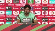 Guedes sobre Ronaldo: «Vamos fazer tudo para o ajudar a bater o recorde de golos»