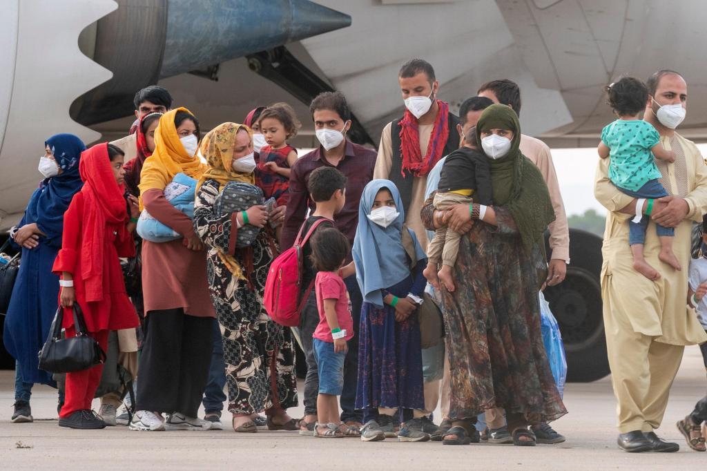Refugiados afegãos chegam a Espanha