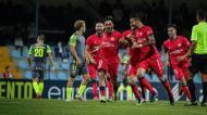 Bruno Almeida fez o golo da vitória do Trofense ante o Penafiel (CD Trofense)