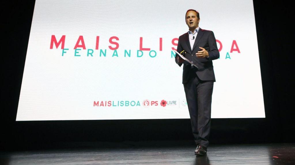 Autárquicas: Fernando Medina apresenta candidatura a Lisboa