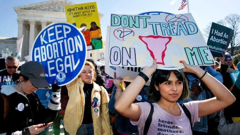Manifestação pela legalização do aborto no Texas
