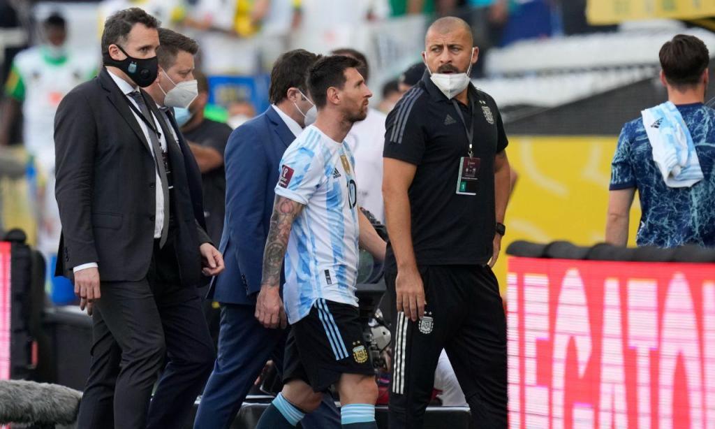 Brasil-Argentina interrompido (AP)