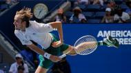 Daniil Medvedev no Open dos Estados Unidos (Elise Amendola/AP)