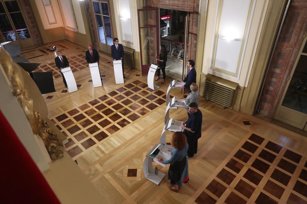 Bastidores do debate das Autárquicas para a Câmara do Porto