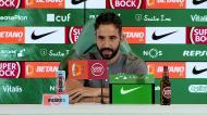 «Sarabia vai ser convocado, temos um plantel curto»