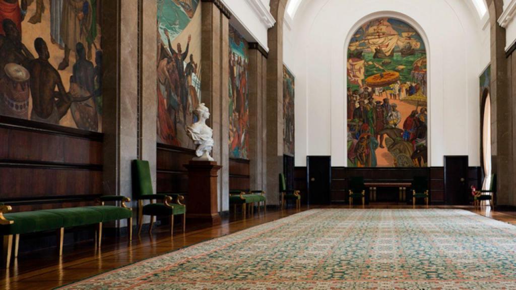Salão Nobre no Parlamento