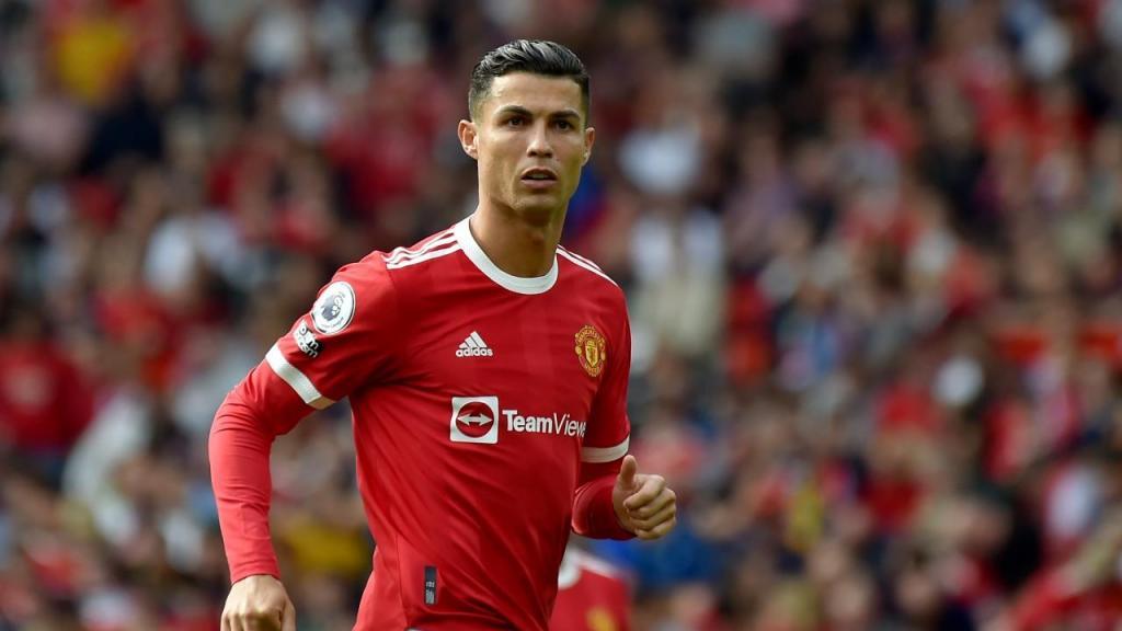 O regresso de Ronaldo a casa no Manchester United-Newcastle (AP Photo/Rui Vieira)