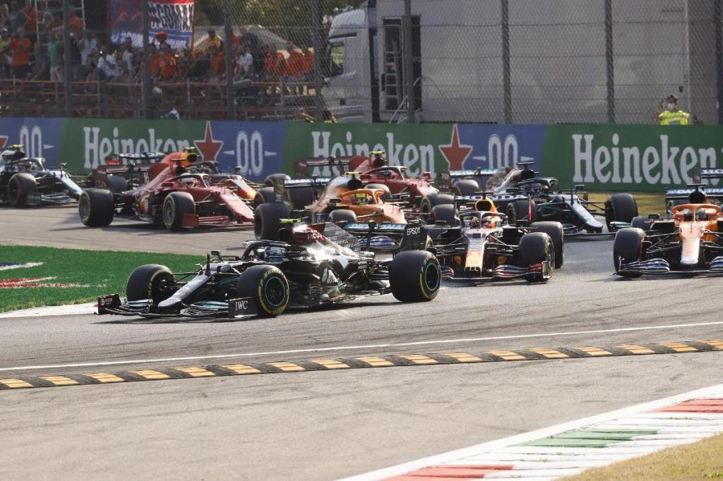 Qualificação sprint do GP de Itália (Lusa)