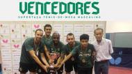 Sporting voltou a vencer a Supertaça de ténis de mesa