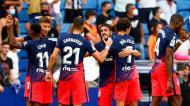 Espanhol-Atlético de Madrid (AP Photo/Joan Monfort)