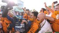 Daniel Ricciardo vence em Monza (Lars Baron/EPA)