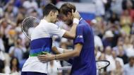 Medvedev bateu Djokovic e venceu Open dos EUA