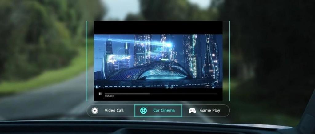 Huawei Heap-up Display Realidade Aumentada