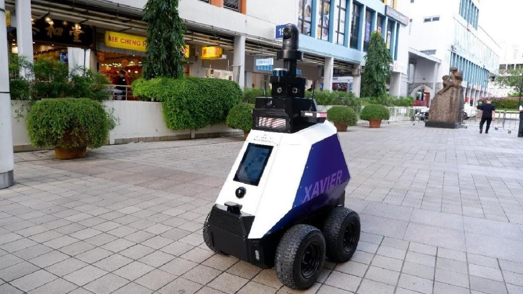 Xavier, um robô polícia autónomo