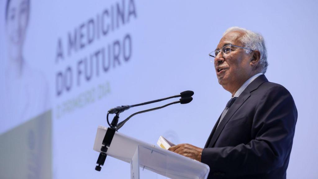 António Costa na inauguração da Faculdade de Medicina da Universidade Católica