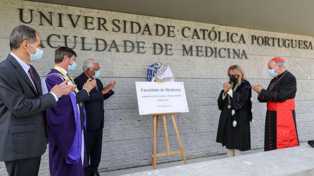 Inauguração da Faculdade de Medicina da Universidade Católica