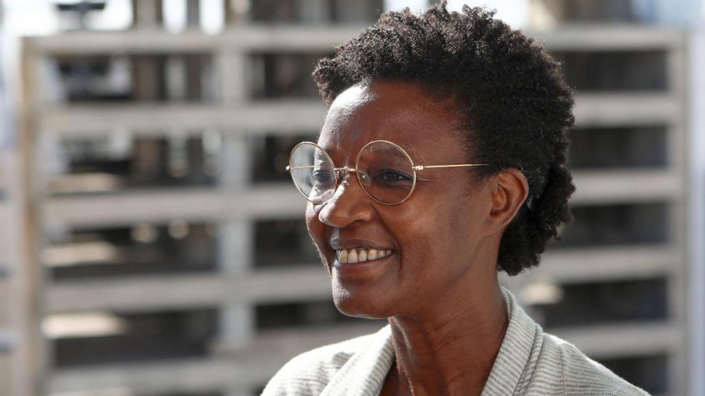 A candidata do Bloco de Esquerda à presidência da Câmara Municipal de Lisboa Beatriz Gomes Dias