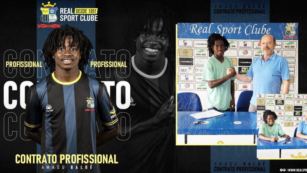 Amadu Baldé (Real Sport Clube)
