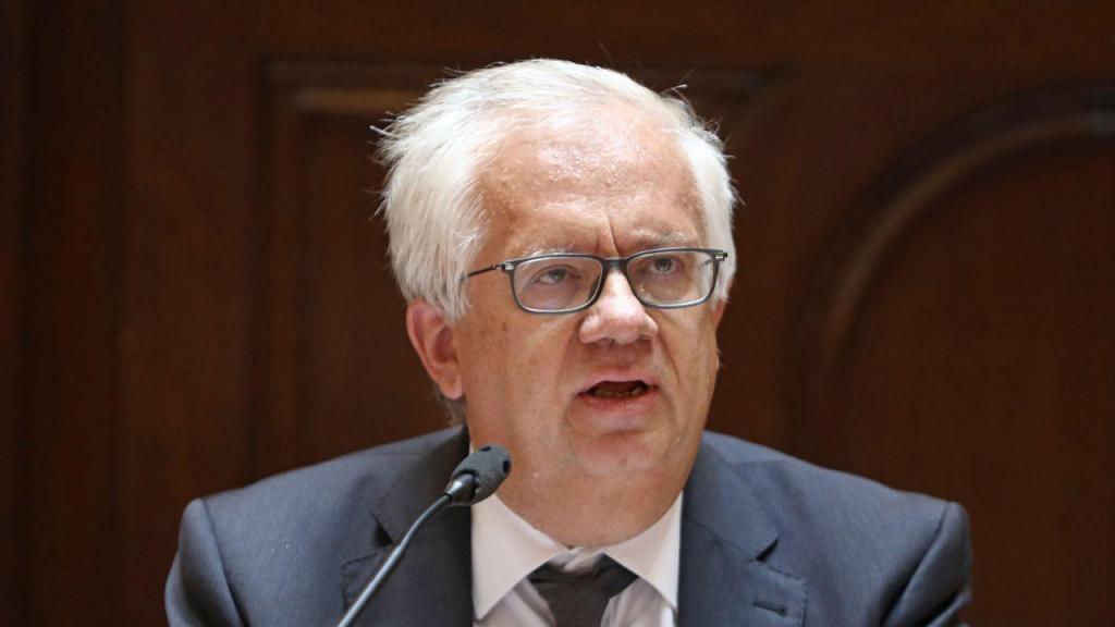 Eduardo Cabrita no Parlamento