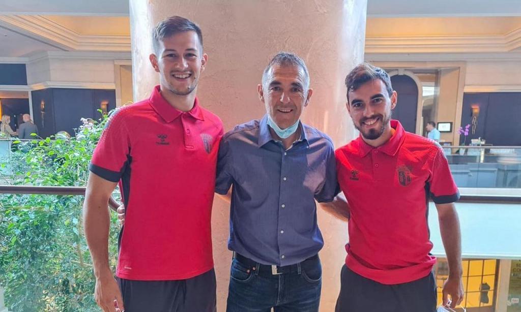 Tiago Sá, Karoglan e Ricardo Horta (Foto: Instagram/SC Braga)