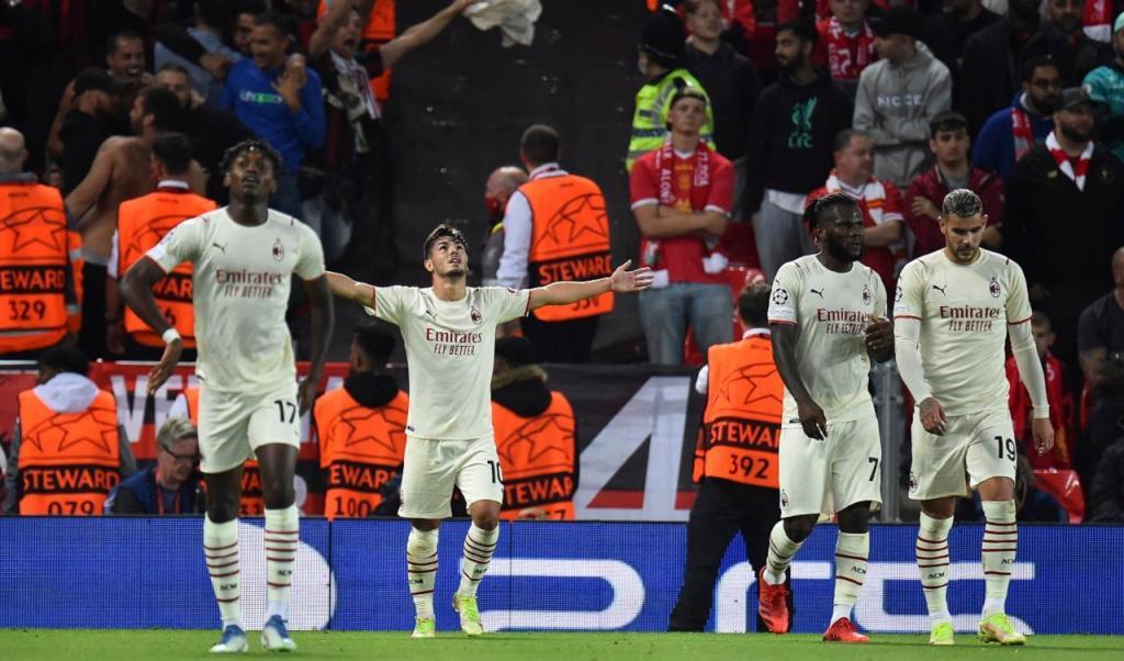 Liverpool-Milan (Peter Powell/Lusa)