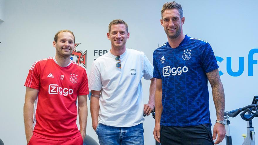 Vertonghen com Blind e Stekelenburg (DR Ajax)