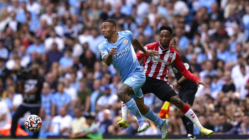 Manchester City-Southampton (Lusa)