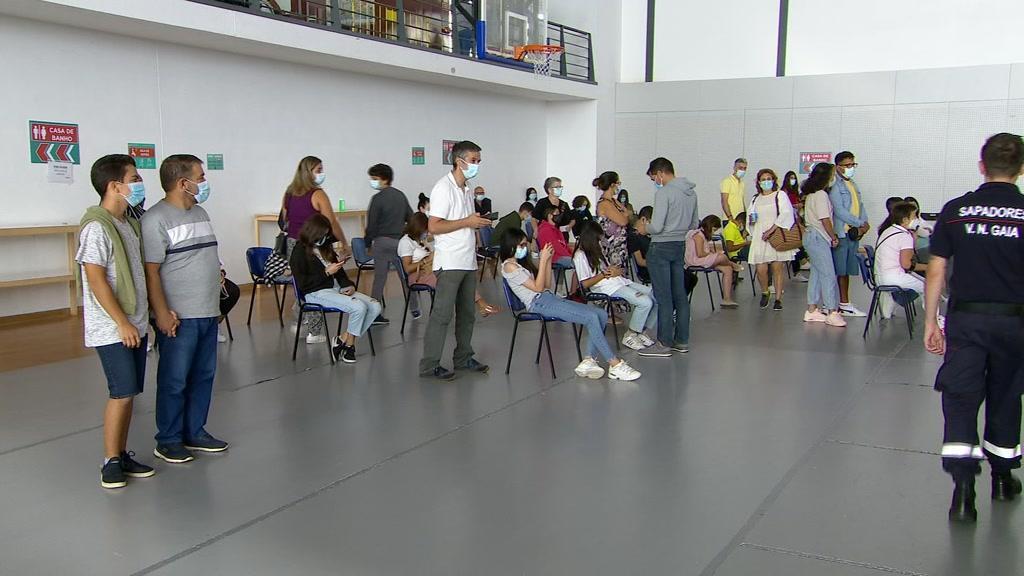 Covid-19: mais de dois mil vacinados em Vila Nova de Gaia