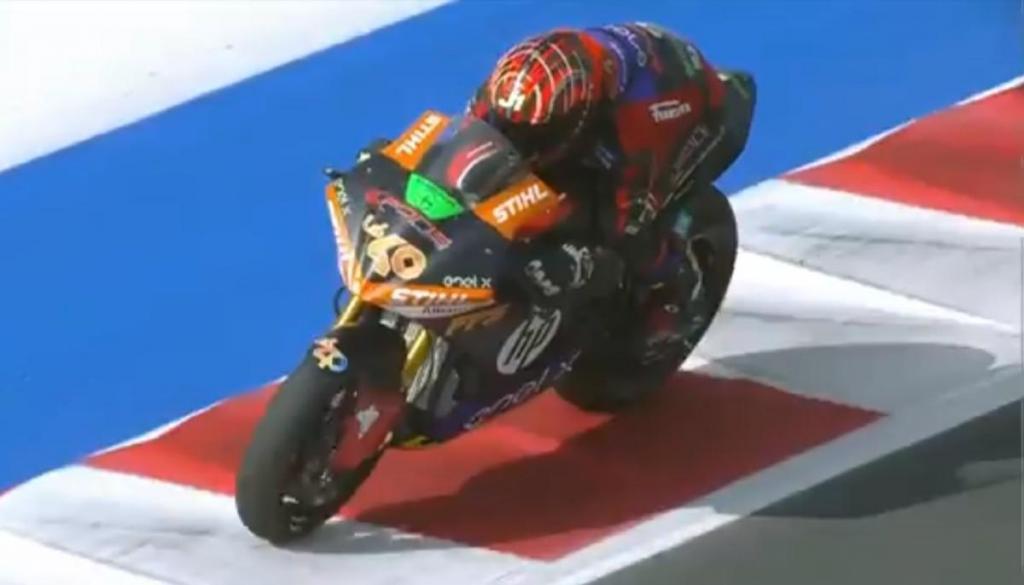 Jordi Torres (captura Twitter MotoGP)