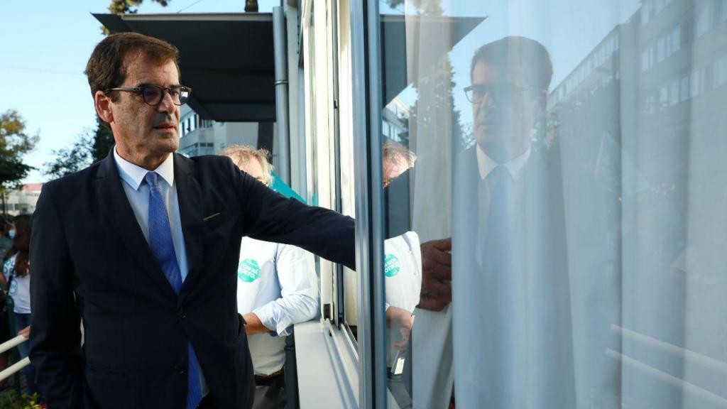 Rui Moreira em campanha na cidade do Porto