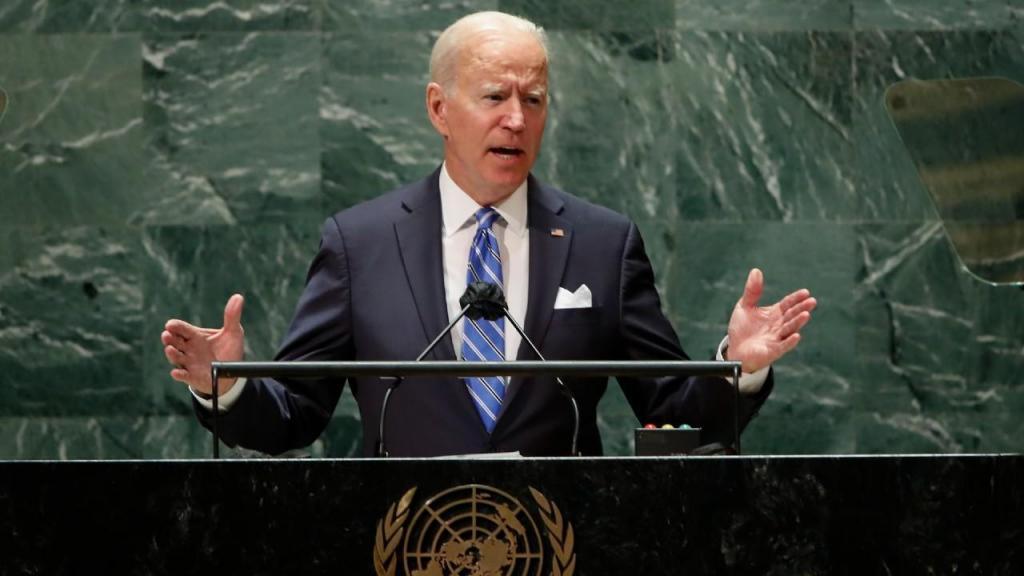 Joe Biden discursa na ONU