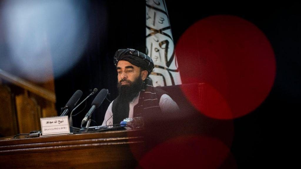 Talibãs - Zabihullah Mujahid