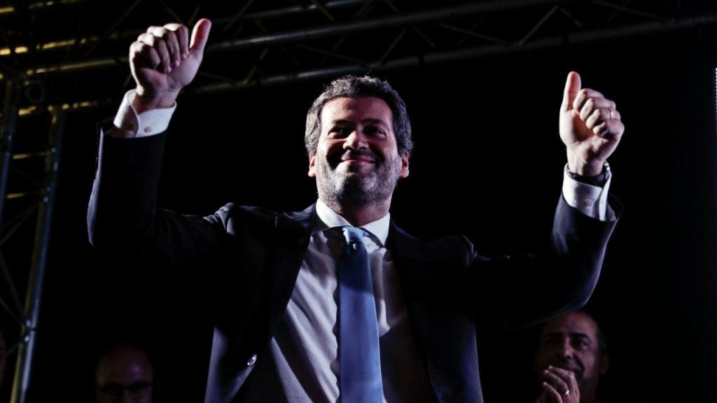André Ventura em campanha