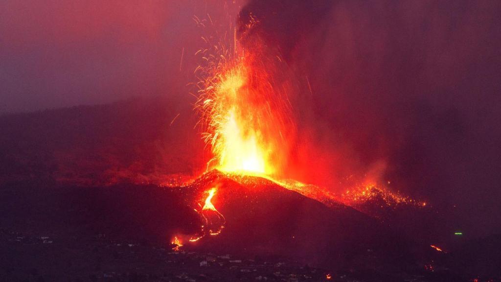 Erupção em La Palma