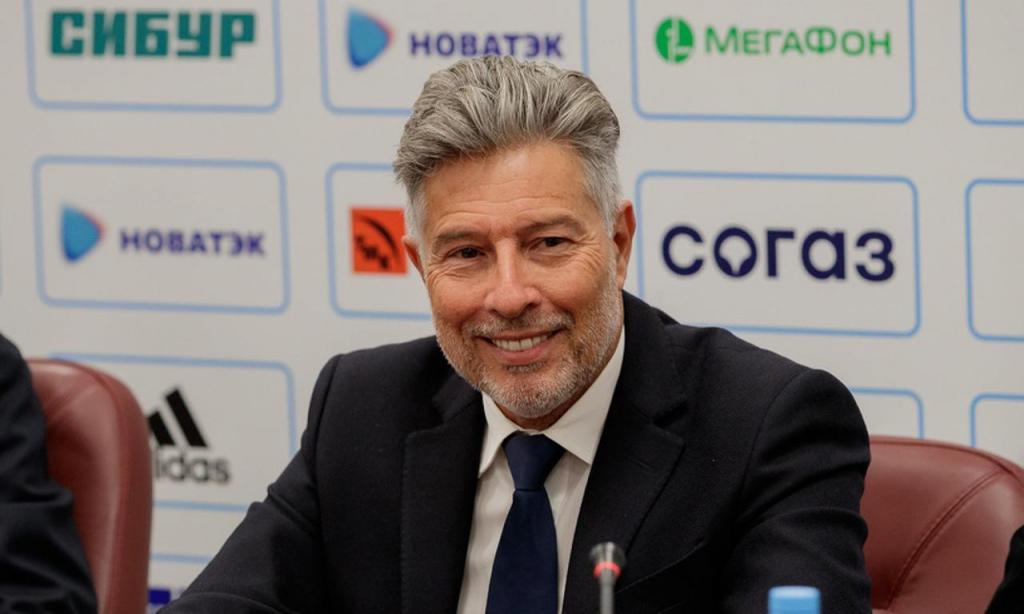 Vítor Pereira (Foto: União de Futebol da Rússia)