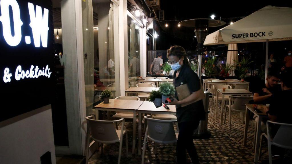 Estabelecimentos encerrados na noite de Lisboa