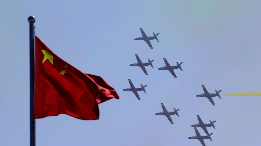 Aviões chineses