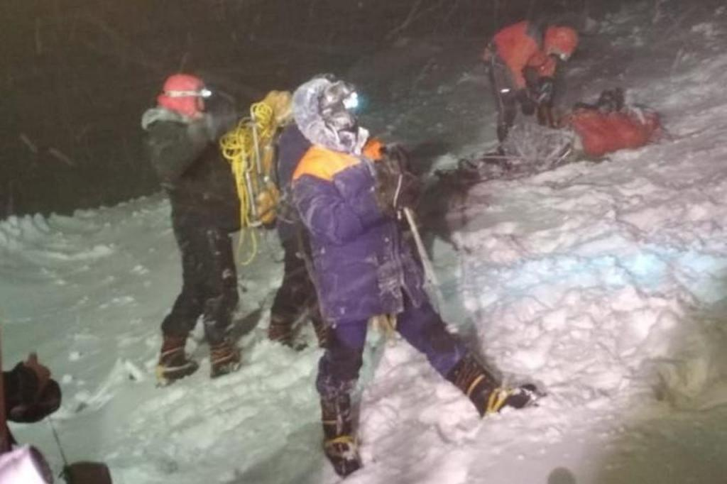 Alpinistas morrem na Rússia