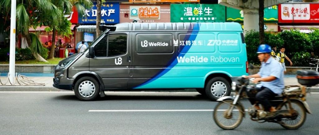 JMC WeRide - transporte autónomo