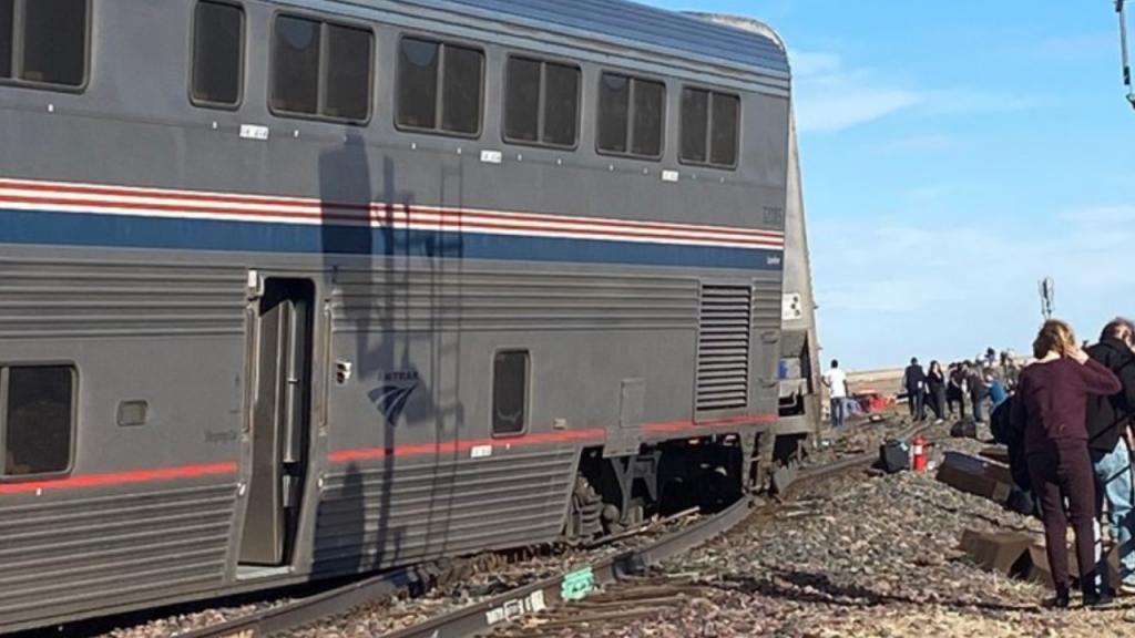 Acidente de comboio no Estado do Montana