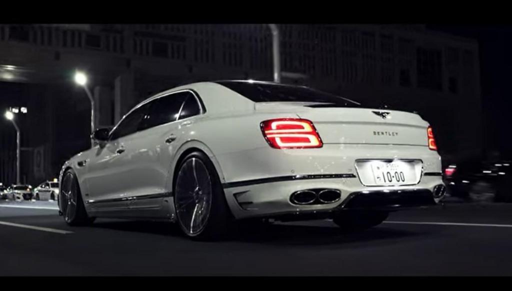Bentley Flying Spur da Mansory (captura YouTube Mansory)