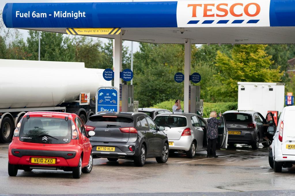 Crise dos combustíveis no Reino Unido