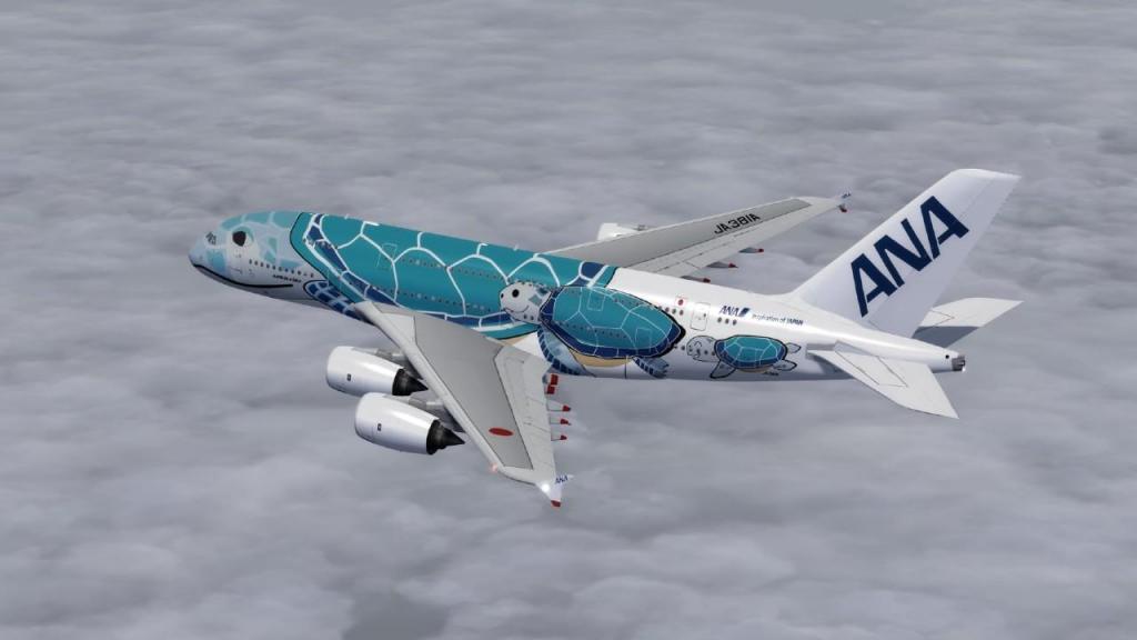 Airbus A380-800 da All- Nippon Airways