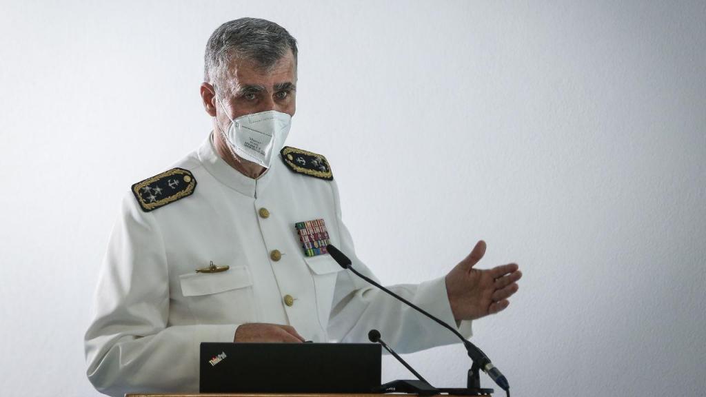 Missão cumprida: o vice-almirante Gouveia e Melo terminou hoje a sua missão à frente da task force da vacinação contra a covid-19