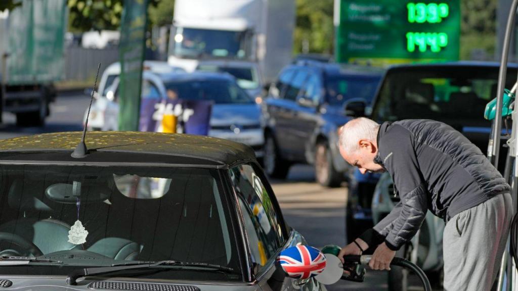 Escassez de combustível no Reino Unido