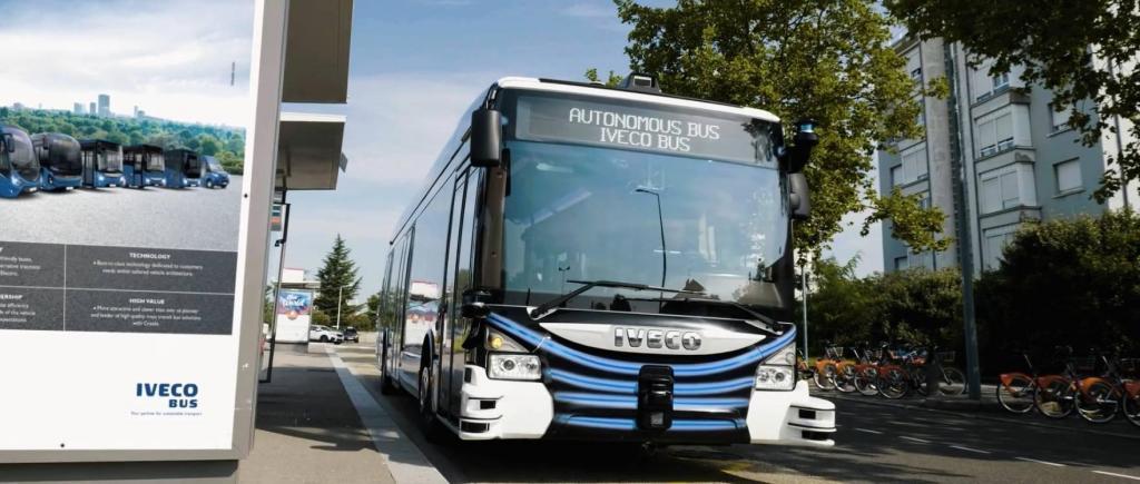 Autocarro autónomo IVECO