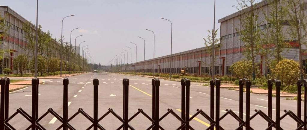 Fábricas abandonadas na China