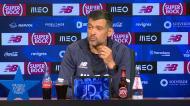 «Digo já, o Diogo Costa vai jogar amanhã, podem escrever»