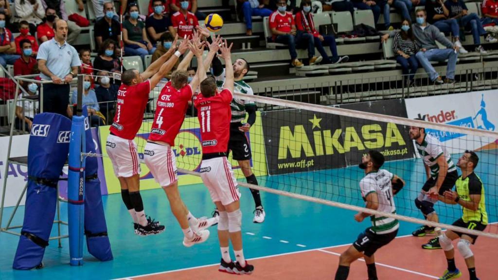 Voleibol (Supertaça): Benfica-Sporting