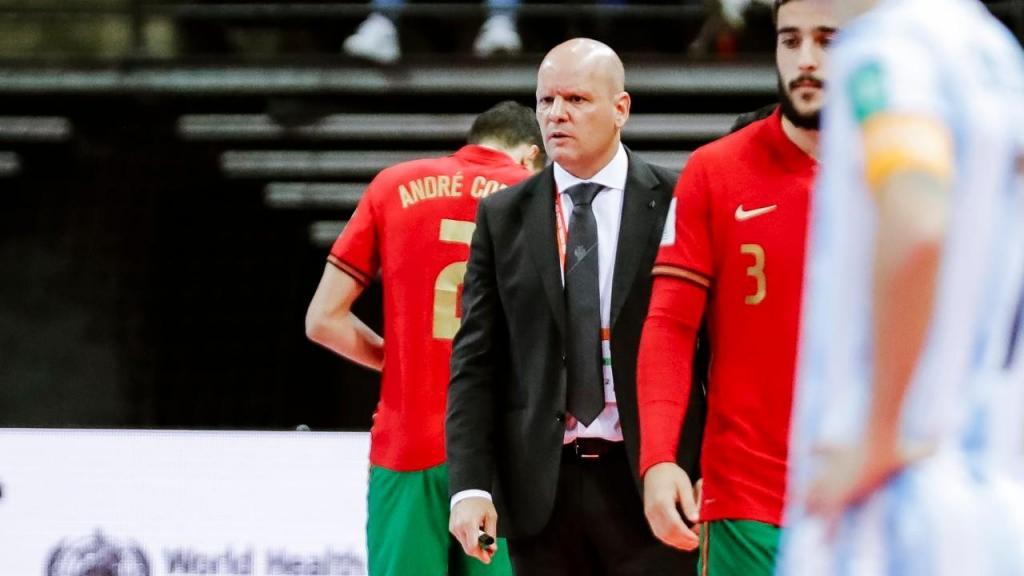 Jorge Braz no Argentina-Portugal (André Sanano/FPF)